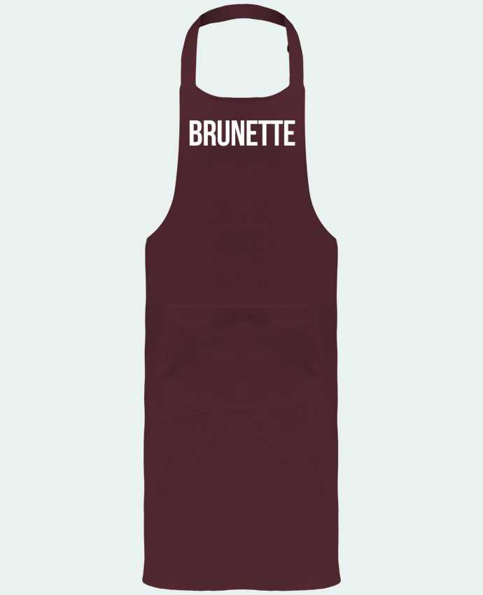 Garden or Sommelier Apron with Pocket Brunette by Bichette