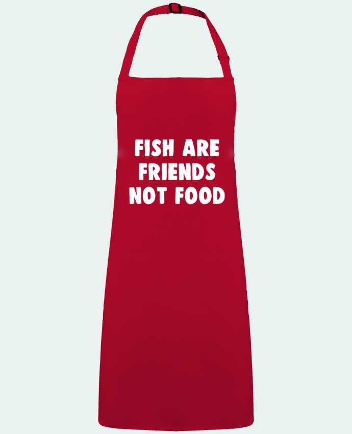 Apron no Pocket Fish are firends not food by  Bichette