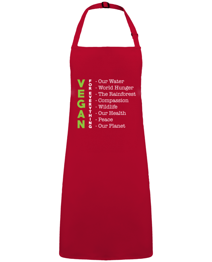 Apron no Pocket Vegan for everything by  Bichette