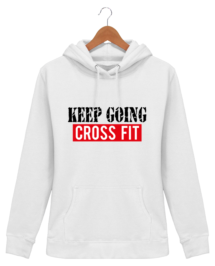 Hoodie Women Keep going ! Crossfit - tunetoo