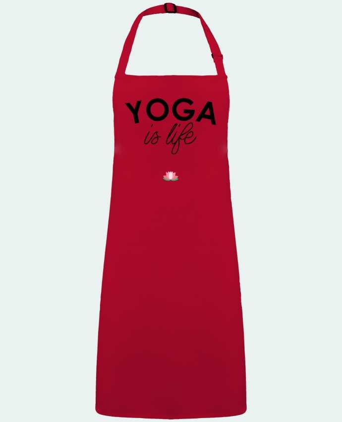 Apron no Pocket Yoga is life by  tunetoo