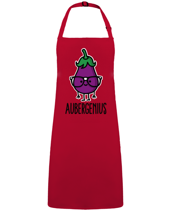 Apron no Pocket Aubergenius by  LaundryFactory