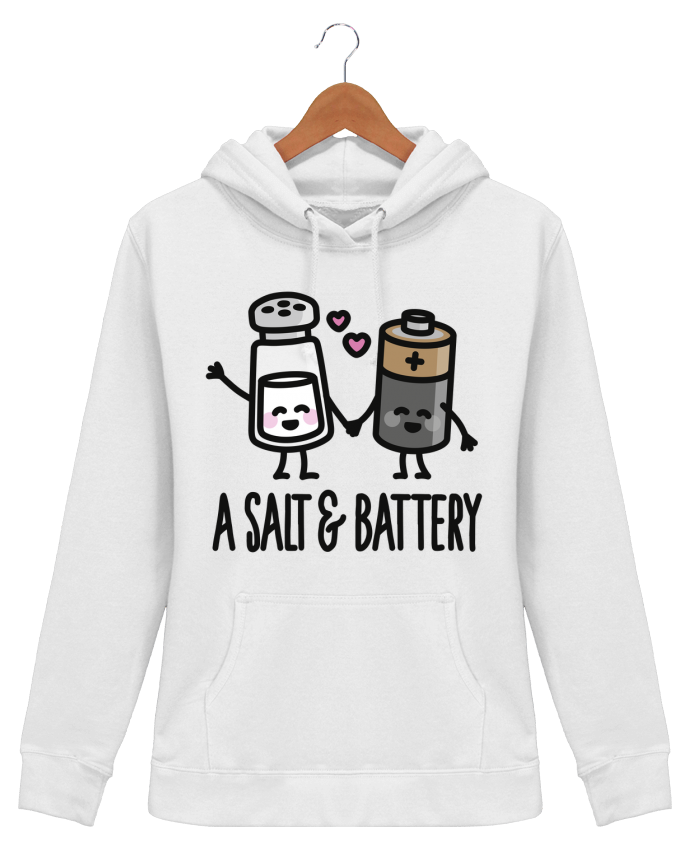 Hoodie Women A salt and battery - LaundryFactory