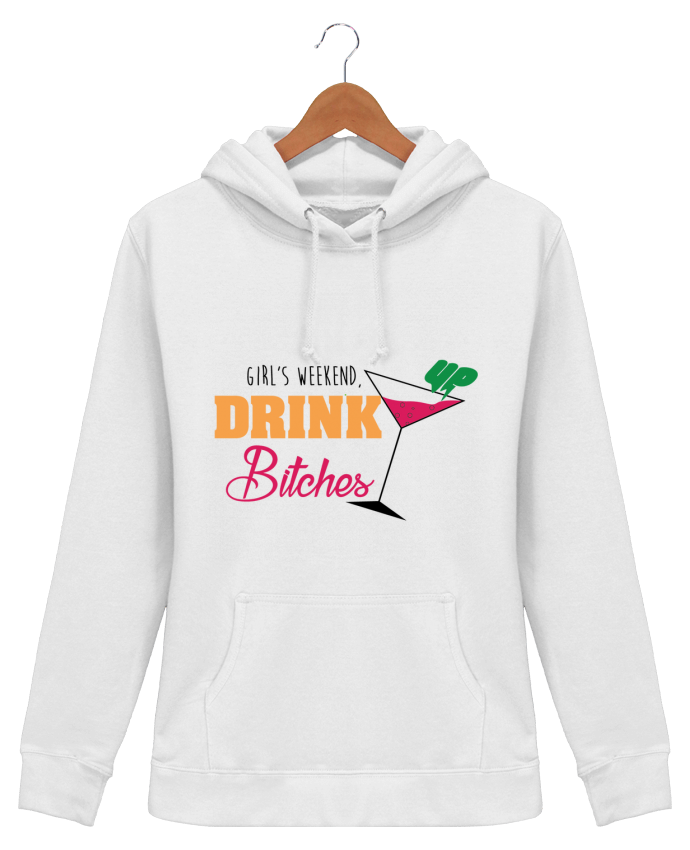 Hoodie Women Girl's weekend, drink up bitches - tunetoo