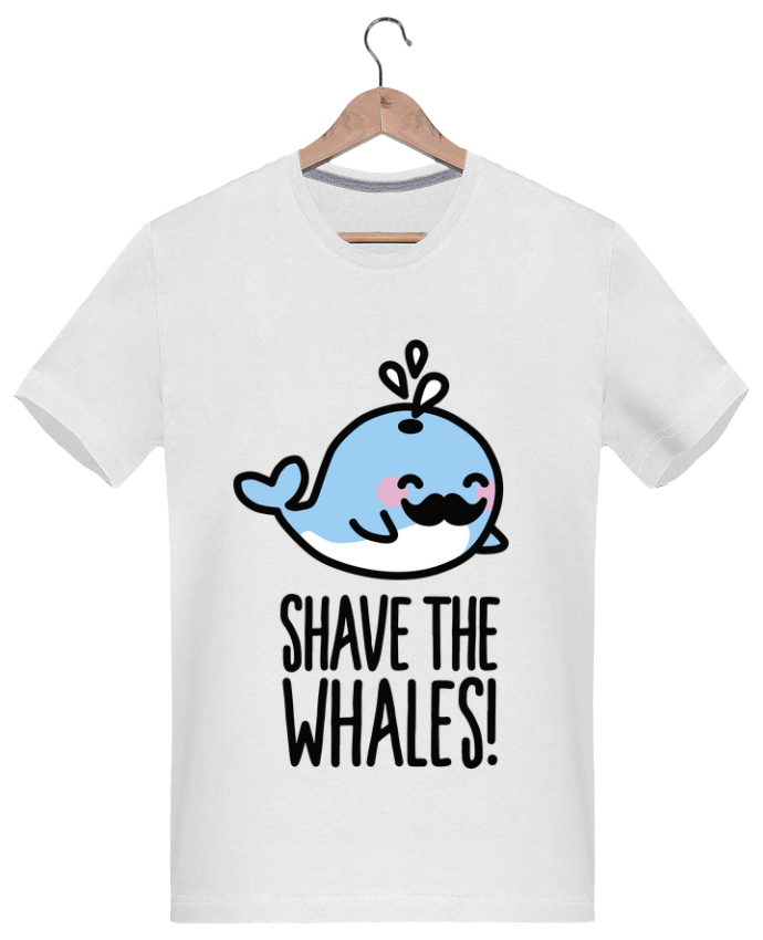 T-Shirt Men 180g SHAVE THE WHALES by LaundryFactory