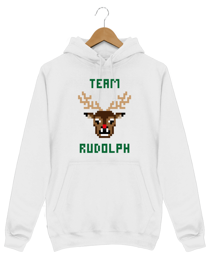 Hoodie Men TEAM RUDOLPH by tunetoo