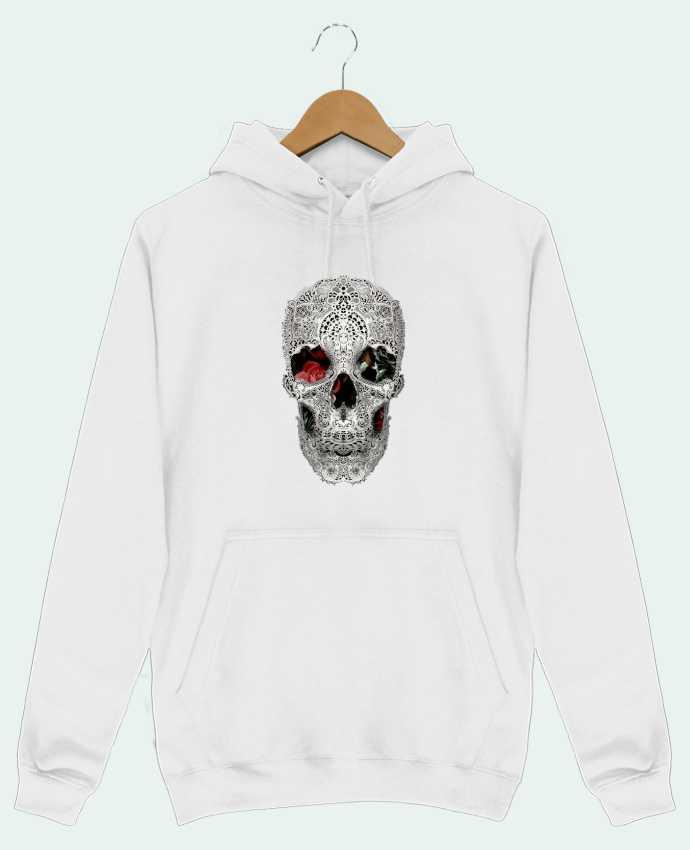 Hoodie Men Lace skull 2 light by ali_gulec