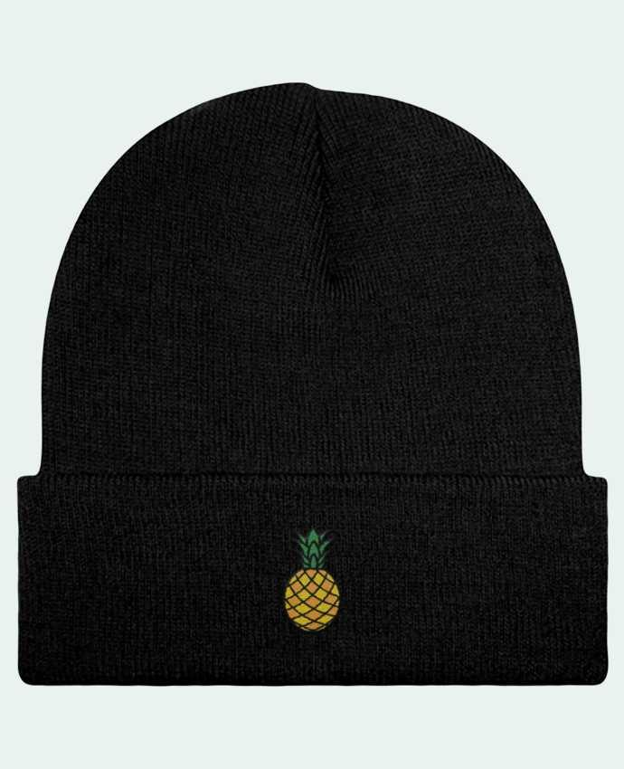 Reversible Beanie Ananas orange by tunetoo