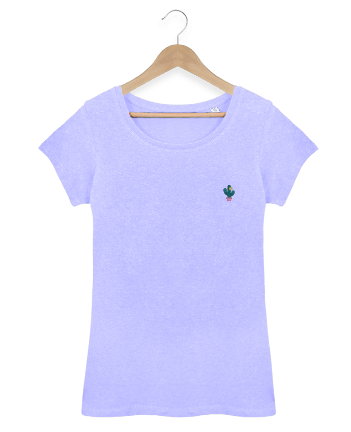 T-shirt  Femme Brodé Cactus by tunetoo