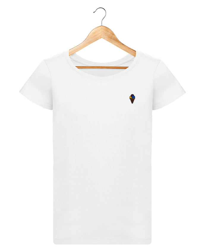 T-shirt  Femme Brodé Glace by tunetoo