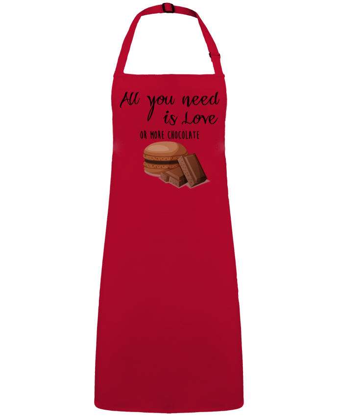 Apron no Pocket all you need is love ...or more chocolate by  DesignMe