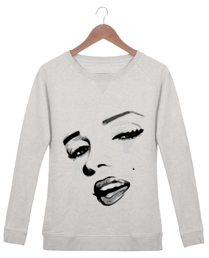 Sweatshirt Women crew neck Stella Trips Classic Pinup Art by GeeK My Shirt
