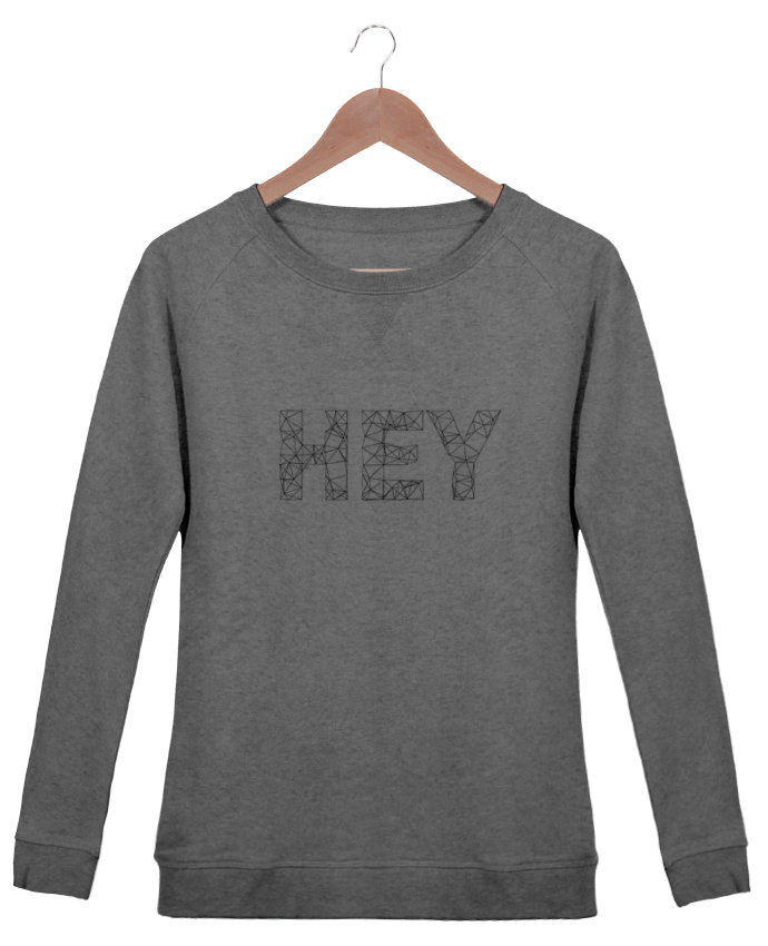 Sweatshirt Women crew neck Stella Trips Hey by na.hili