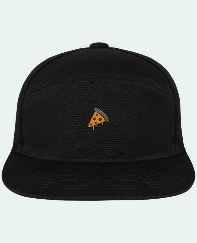 Snapback Cap Pitcher Pizza slice by tunetoo