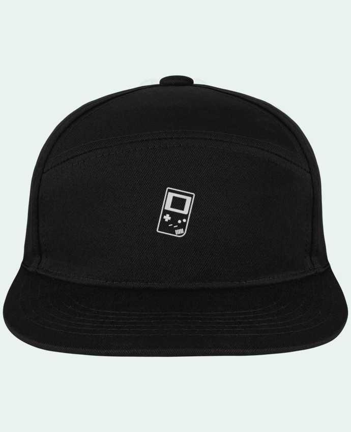 Snapback Cap Pitcher Gameboy brodé by tunetoo