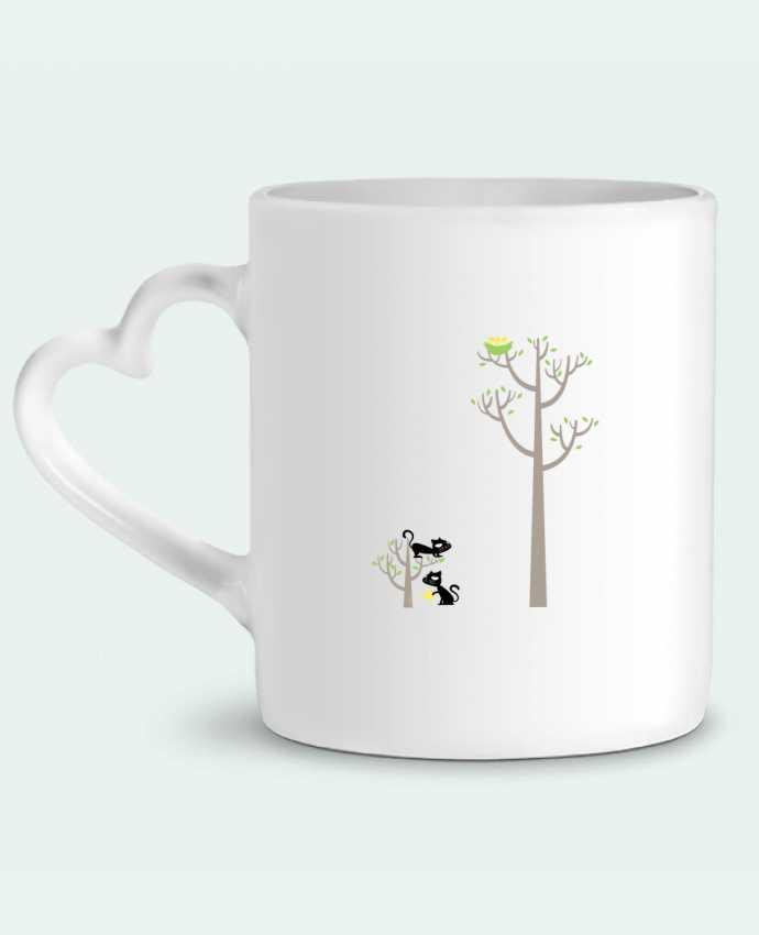Mug Heart Growing a plant for Lunch by flyingmouse365