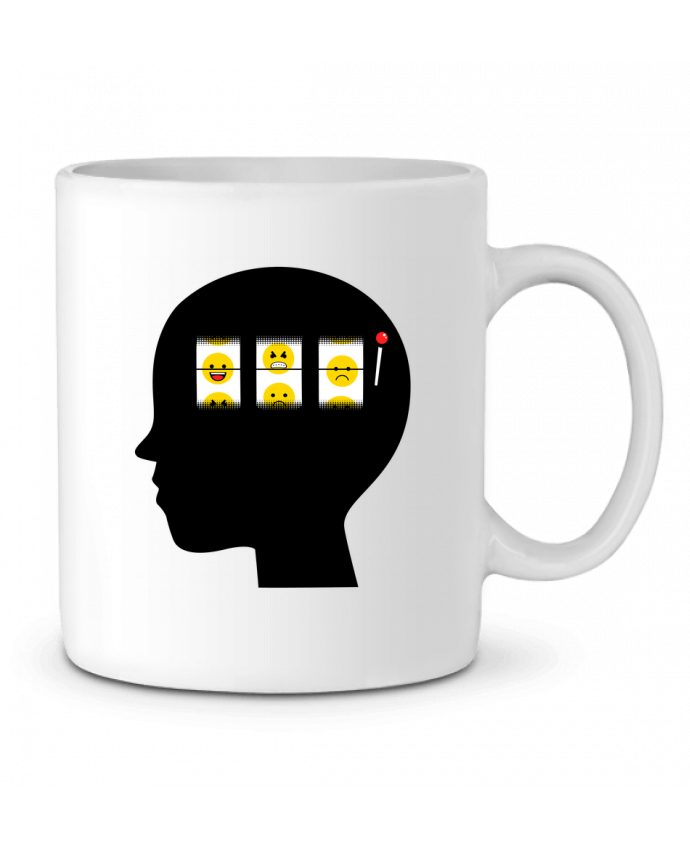 Ceramic Mug Mood of the day by flyingmouse365