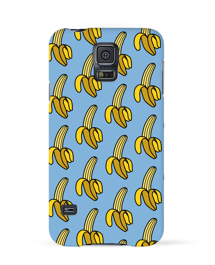 Case 3D Samsung Galaxy S5 Banana by tunetoo