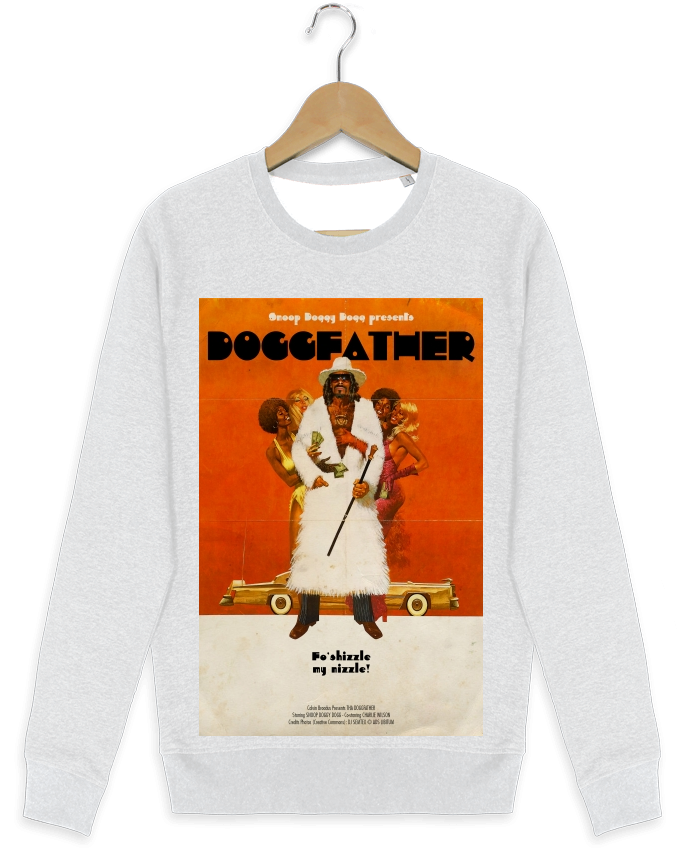 Sweat-shirt Stanley stella modèle seeks Doggfather by Ads Libitum