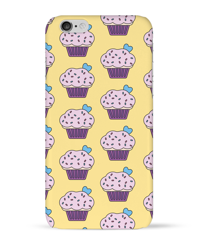 Case 3D iPhone 6 Cupcake coeur by tunetoo