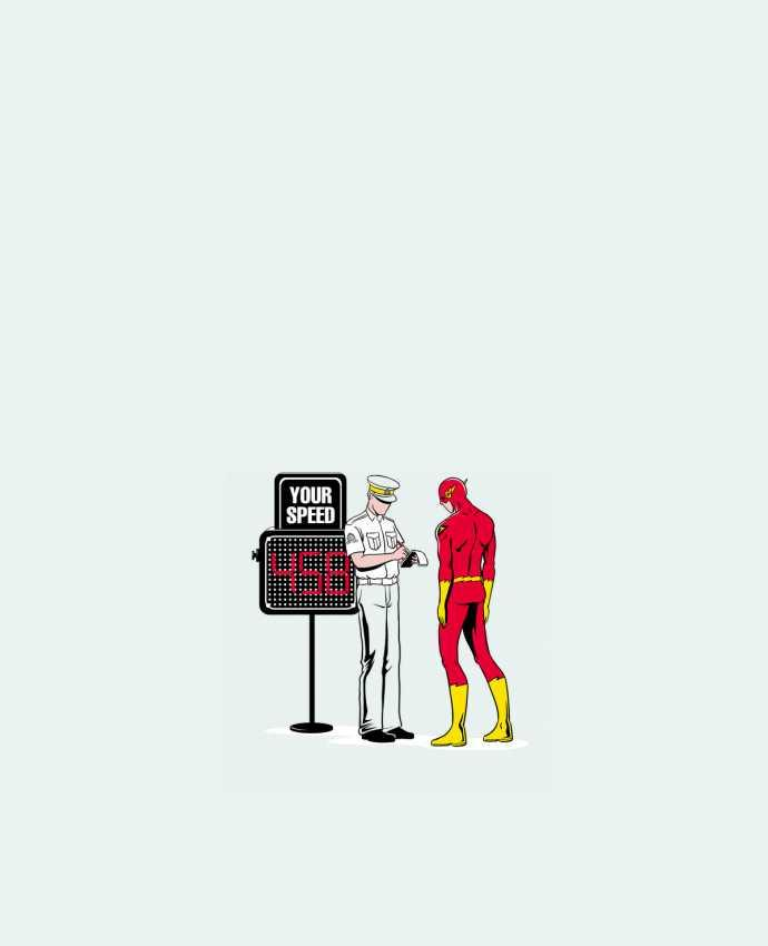 Tote Bag cotton Speed Trap by flyingmouse365