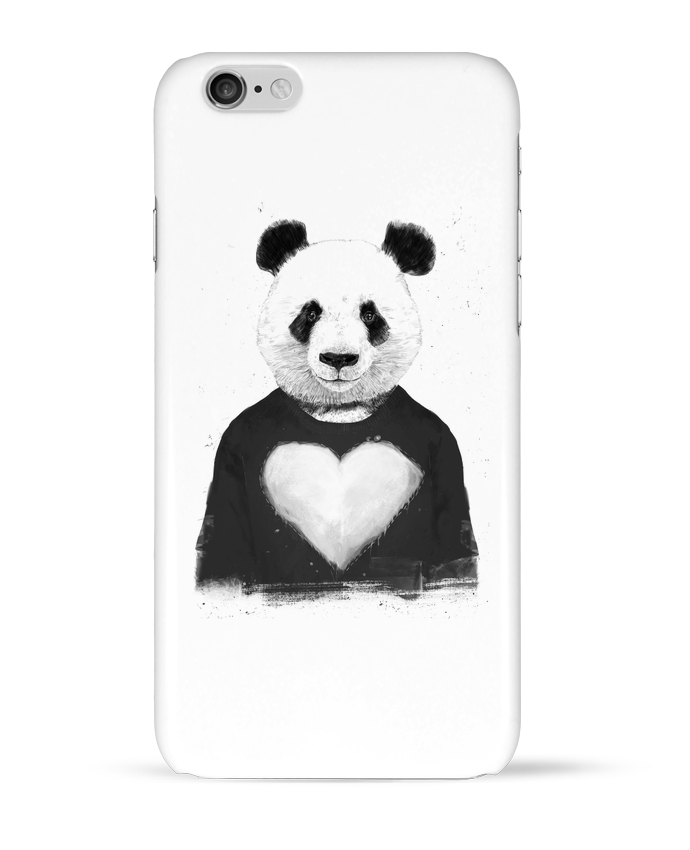 Case 3D iPhone 6 lovely_panda by Balàzs Solti