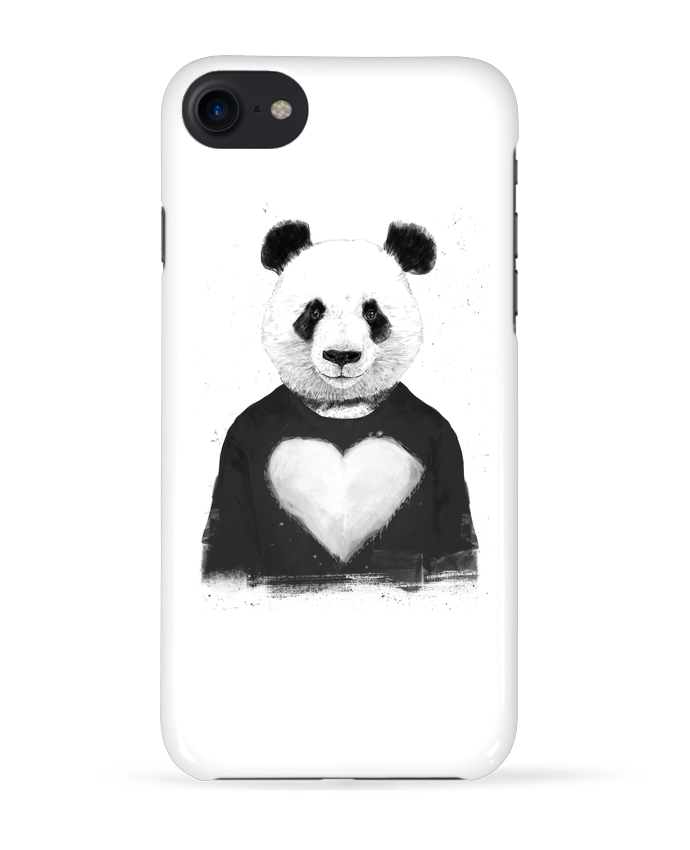 Case 3D iPhone 7 lovely_panda de Balàzs Solti