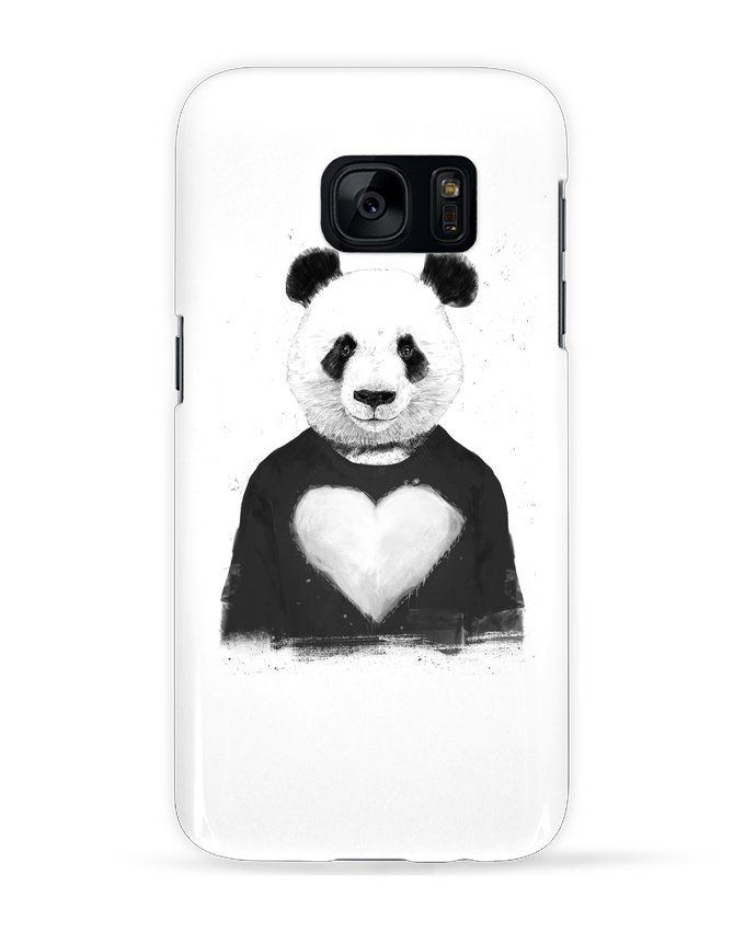 Case 3D Samsung Galaxy S7 lovely_panda by Balàzs Solti