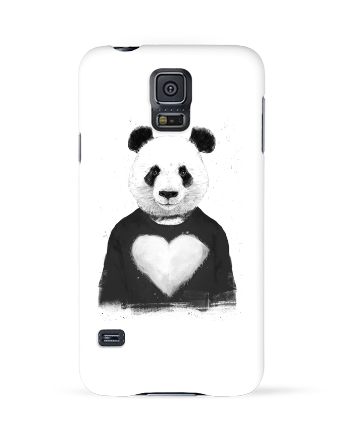 Case 3D Samsung Galaxy S5 lovely_panda by Balàzs Solti