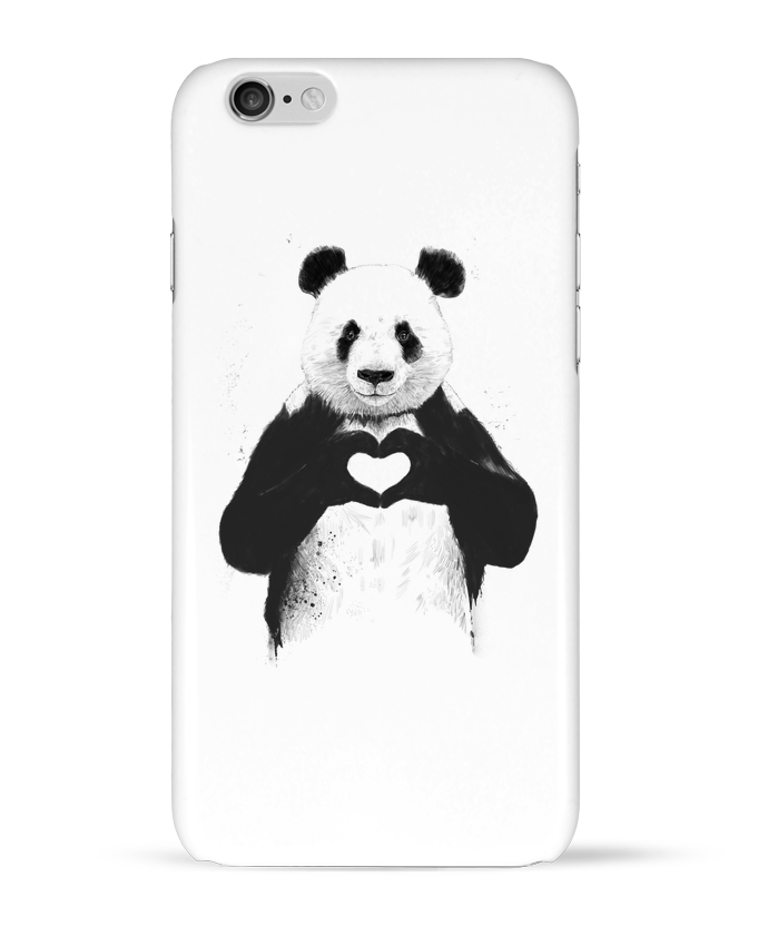 Case 3D iPhone 6 All you need is love by Balàzs Solti