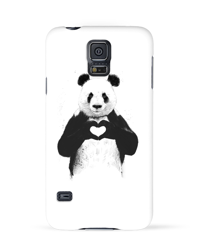 Case 3D Samsung Galaxy S5 All you need is love by Balàzs Solti