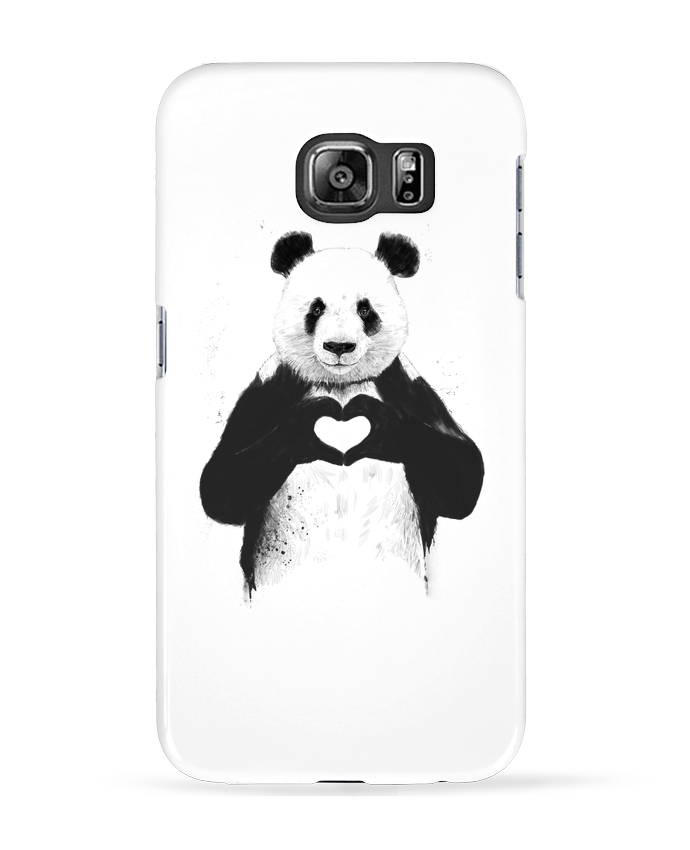 Case 3D Samsung Galaxy S6 All you need is love - Balàzs Solti