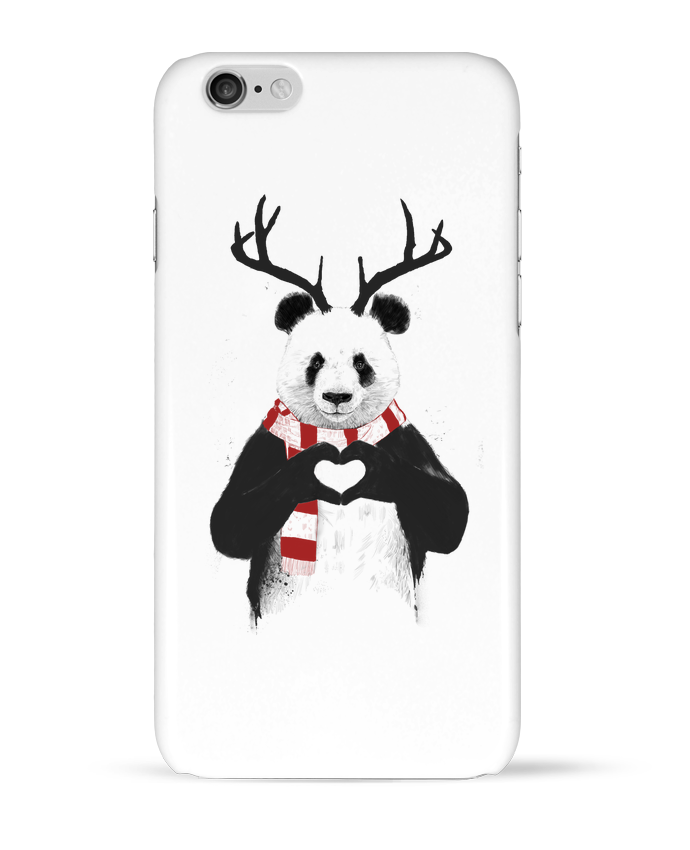 Case 3D iPhone 6 X-mas Panda by Balàzs Solti