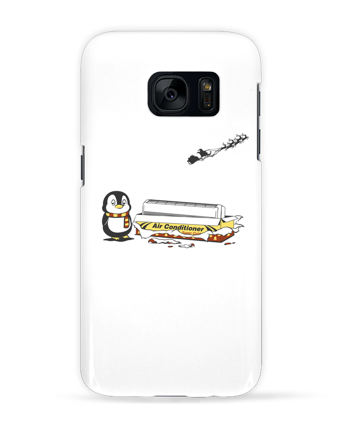 Case 3D Samsung Galaxy S7 Christmas Gift by flyingmouse365