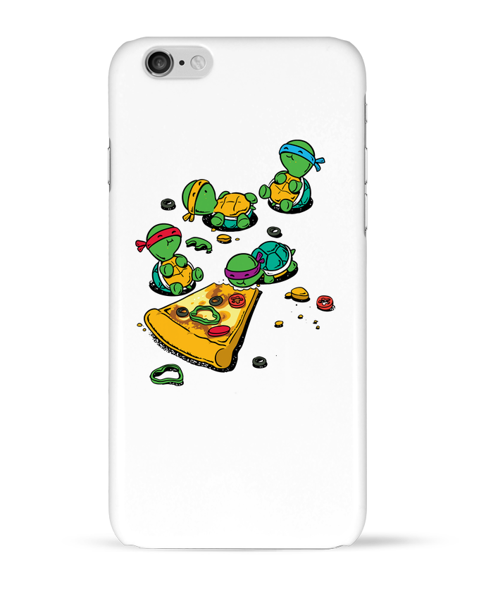 Case 3D iPhone 6 Pizza lover by flyingmouse365