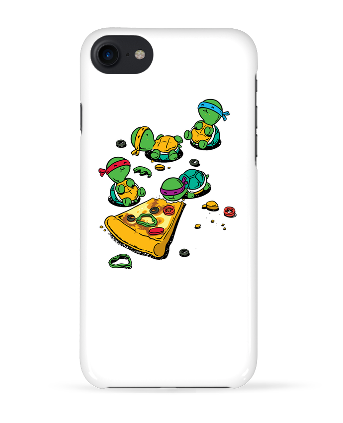 Case 3D iPhone 7 Pizza lover de flyingmouse365