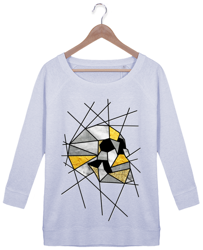 Sweatshirt Women 3/4 sleeve Stella Amazes Tencel Fragment by ali_gulec