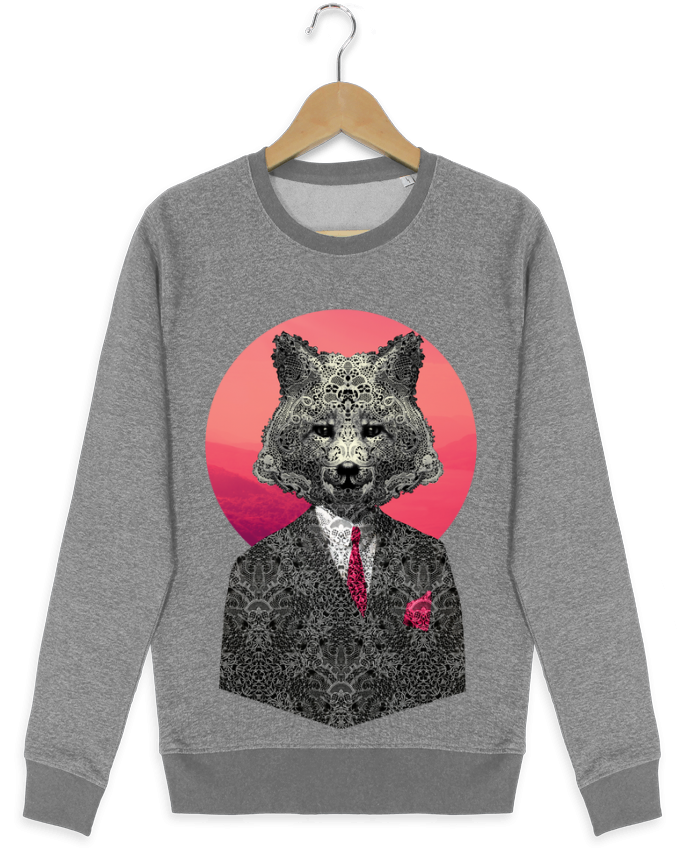 sweatshirt crew neck UStella Seeks Very Important Fox by ali_gulec
