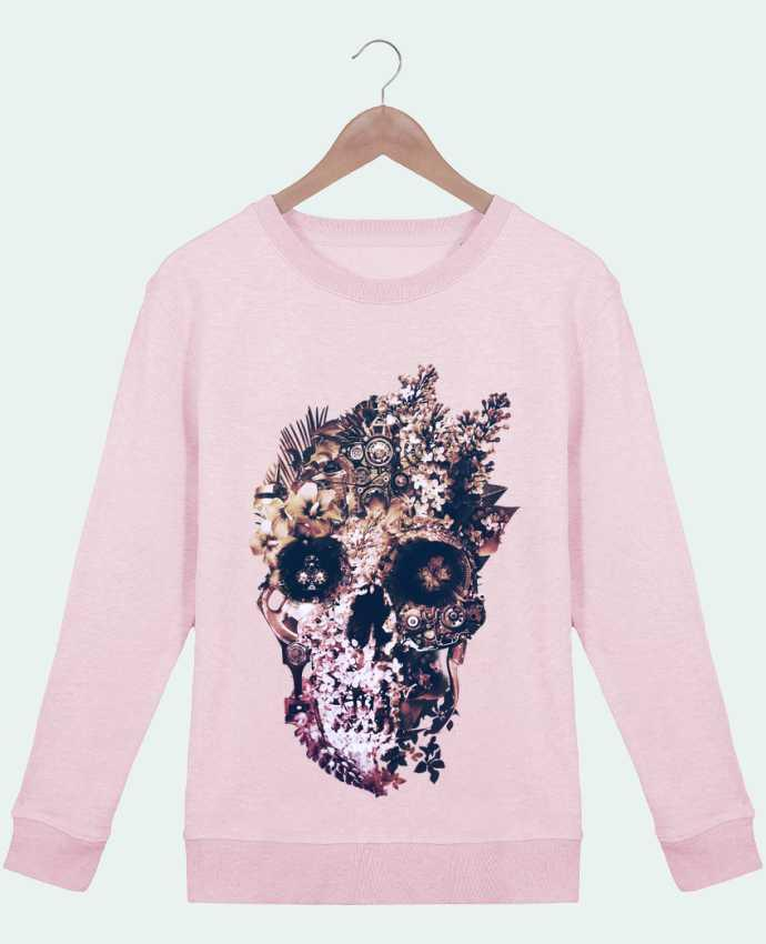 Sweatshirt Women crew neck Stella Hides Metamorphosis Light by ali_gulec
