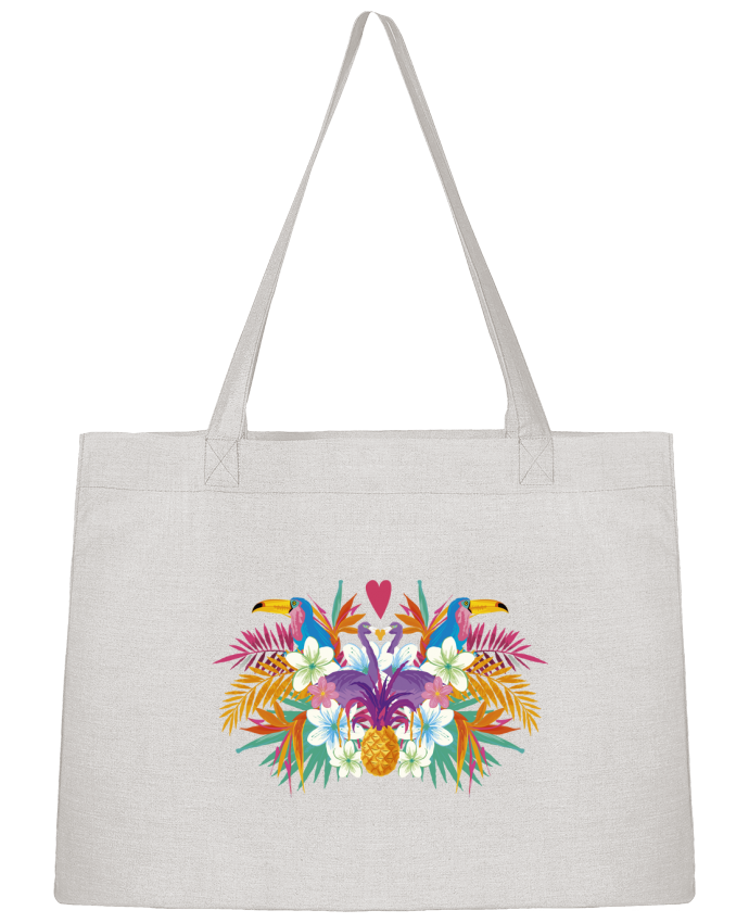 Shopping tote bag Stanley Stella Tropical Summer 2 by IDÉ'IN