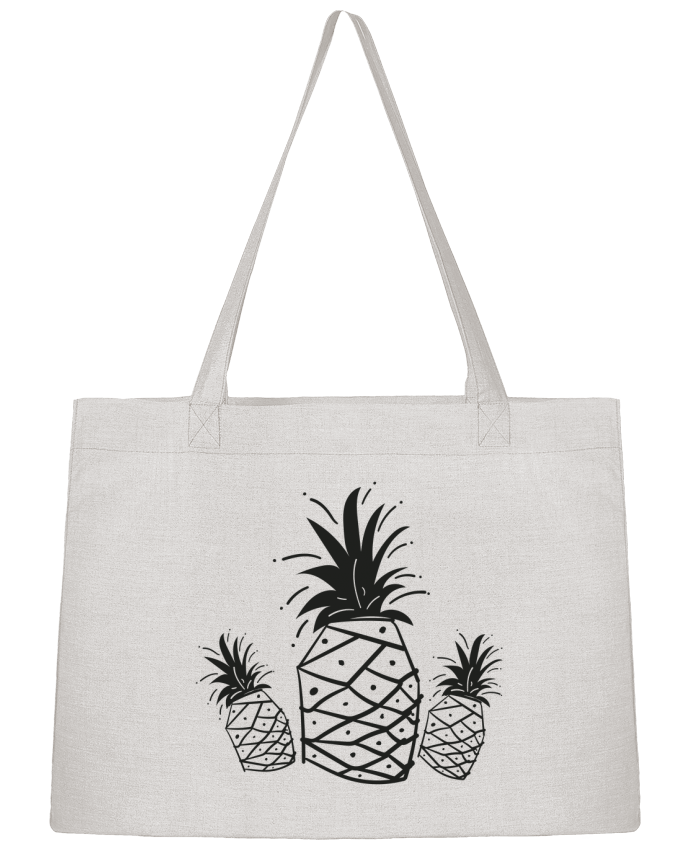 Shopping tote bag Stanley Stella CRAZY PINEAPPLE by IDÉ'IN