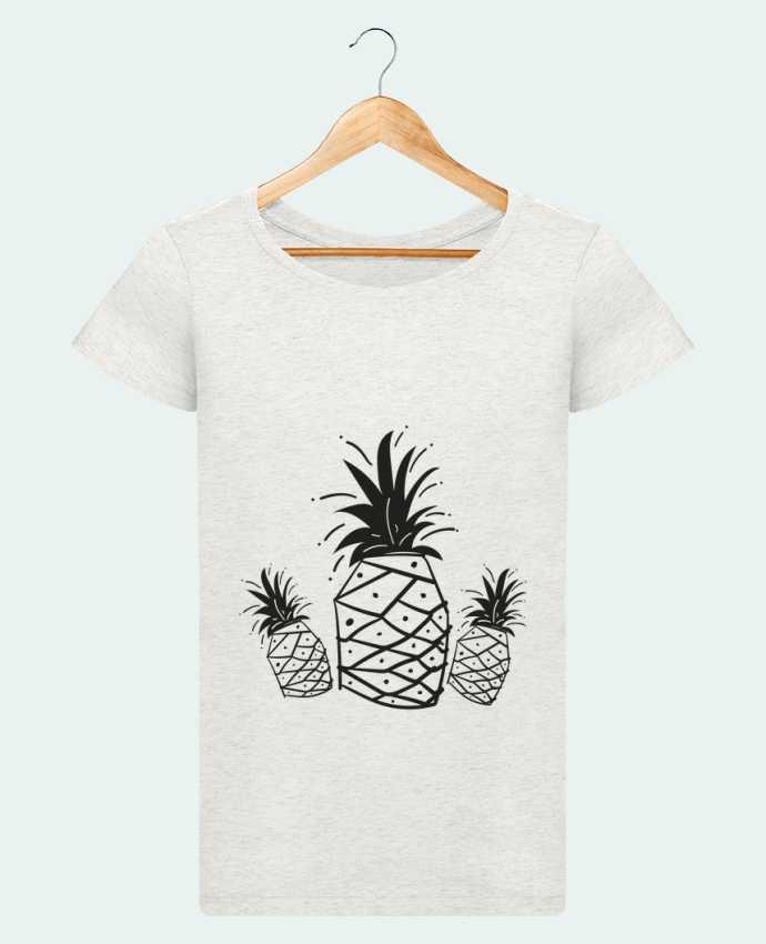 T-shirt Women Stella Loves CRAZY PINEAPPLE by IDÉ'IN