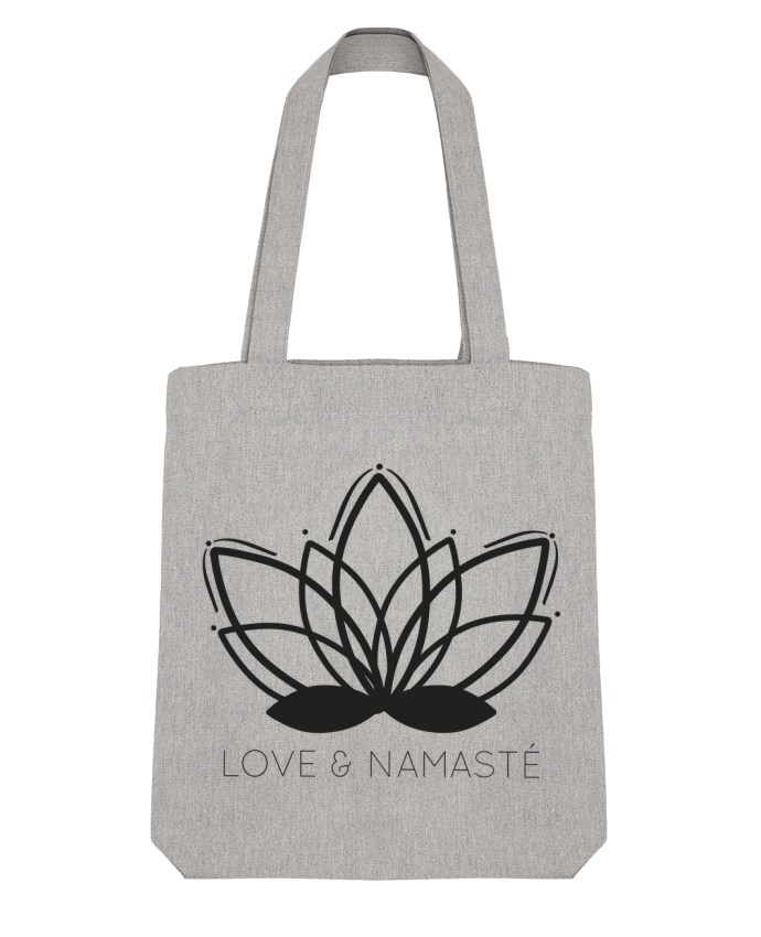 Tote Bag Stanley Stella Love & Namasté by IDÉ'IN