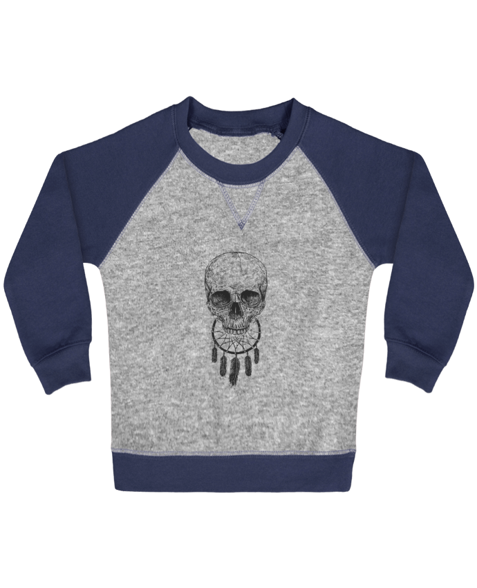 Sweatshirt Baby crew-neck sleeves contrast raglan Dream Forever by Balàzs Solti