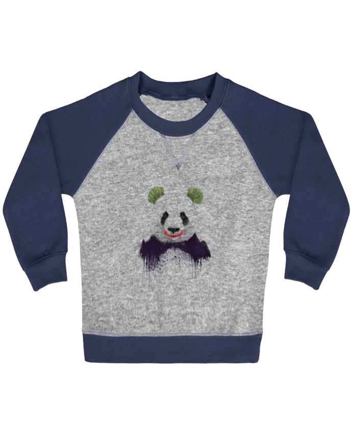 Sweatshirt Baby crew-neck sleeves contrast raglan Jokerface by Balàzs Solti