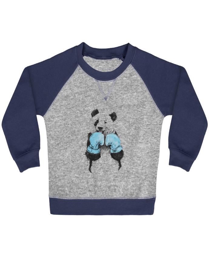 Sweatshirt Baby crew-neck sleeves contrast raglan the_winner by Balàzs Solti