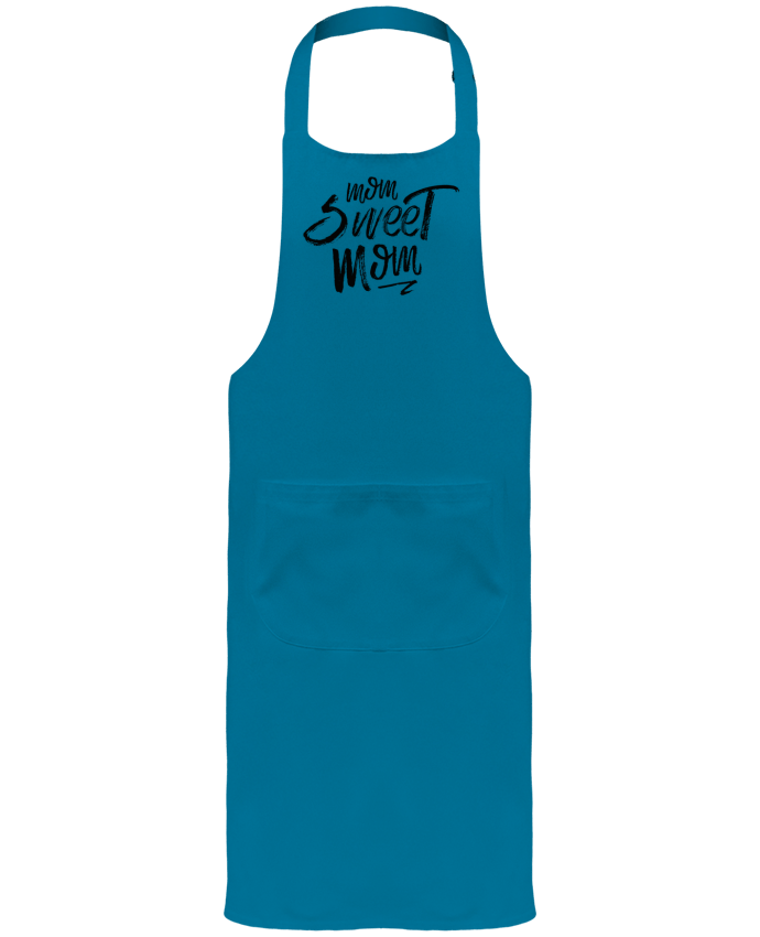 Garden or Sommelier Apron with Pocket Mom sweet mom by tunetoo