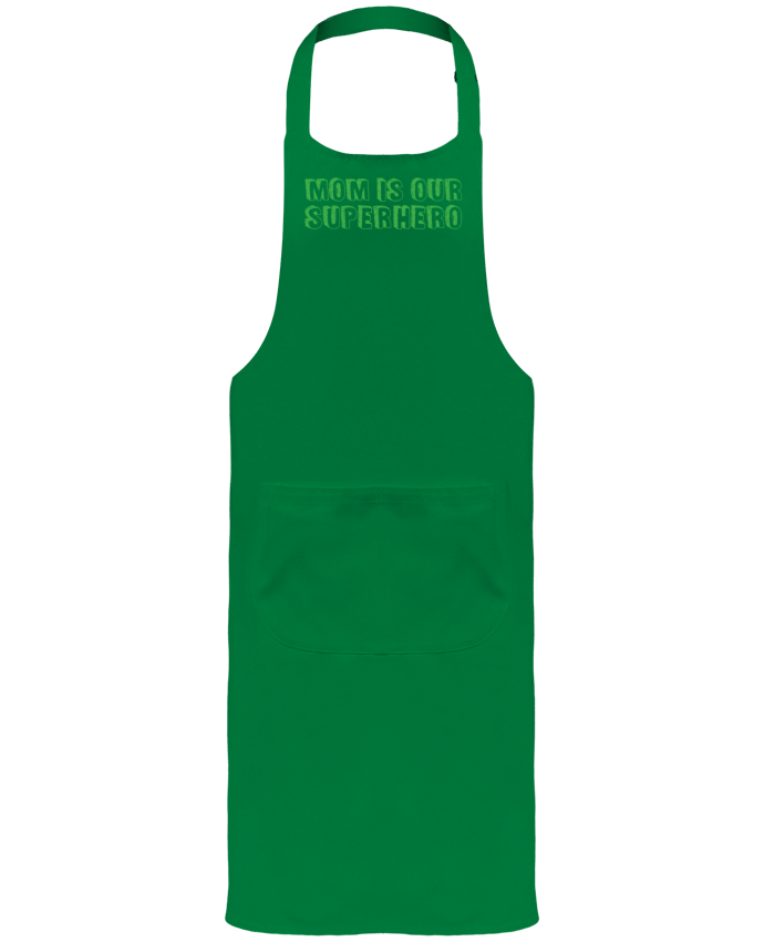 Garden or Sommelier Apron with Pocket Mom is our superhero by tunetoo