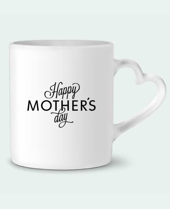 Mug Heart Happy Mothers day by tunetoo