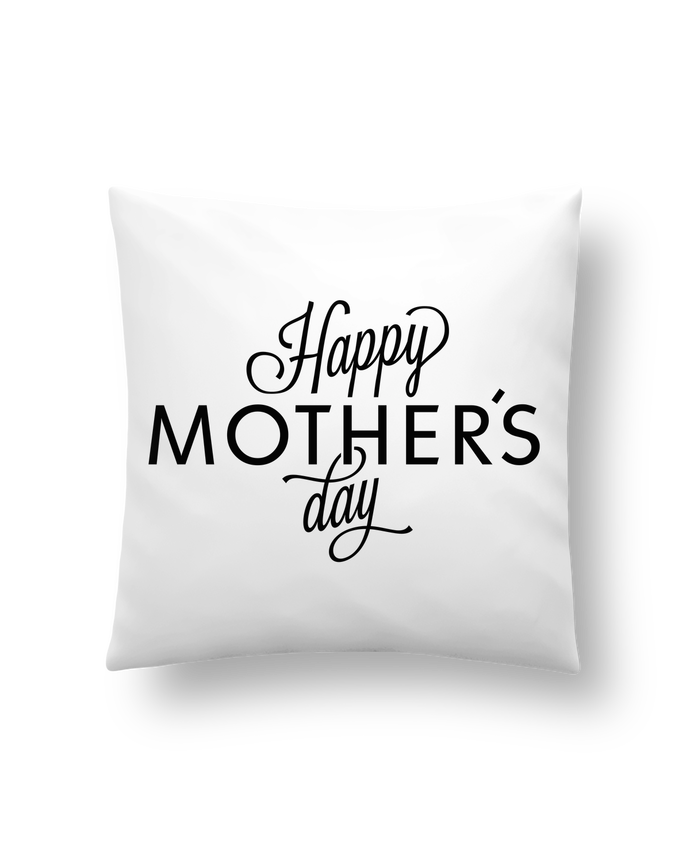 Cushion synthetic soft 45 x 45 cm Happy Mothers day by tunetoo